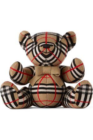 Burberry Kids Wool Check Thomas Bear