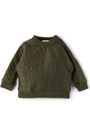 Burberry Baby Quilted Timothie Monogram Sweatshirt