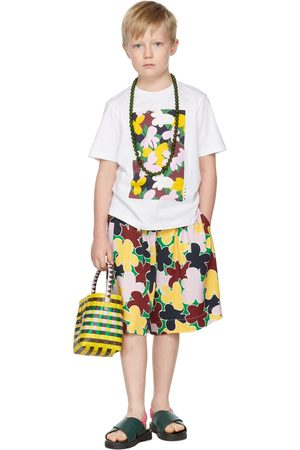 Marni Kids Flower Print T-Shirt