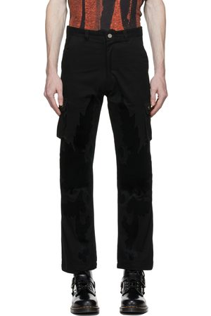 Youths in Balaclava Velvet Patch Cargo Pants
