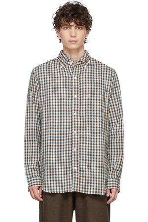 TS(S) Green & Brown Plaid shirt