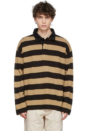 TS(S) Black & Beige Rugby Polo