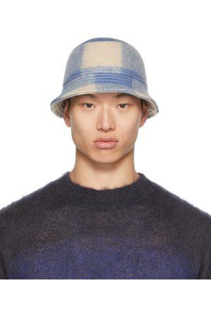 Isabel Marant Blue & Beige Haley Bucket Hat