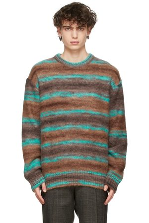 WOOYOUNGMI Mohair Striped Sweater