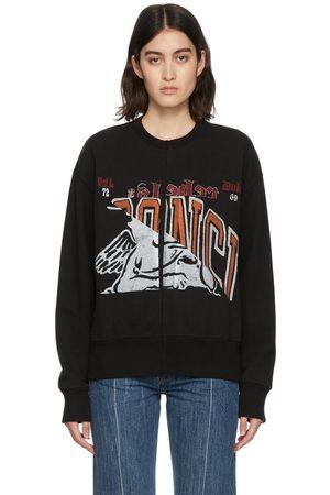 OUR LEGACY Black Slashed Base Sweatshirt