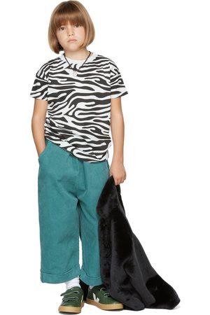 The Campamento Kids White & Black Zebra T-Shirt