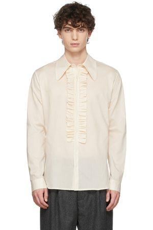 Molly Goddard Men Shirts - Off-White Matthew Shirt