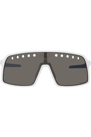 Oakley White Sutro Sunglasses