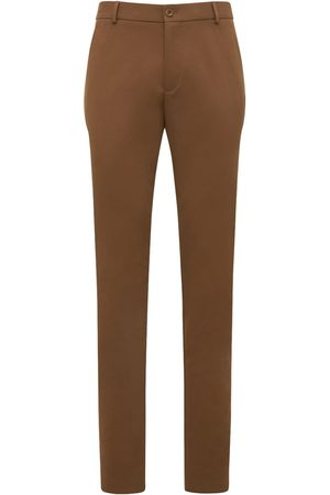 Loro Piana 17.5 Cm Chino Cotton Tricotine Pants