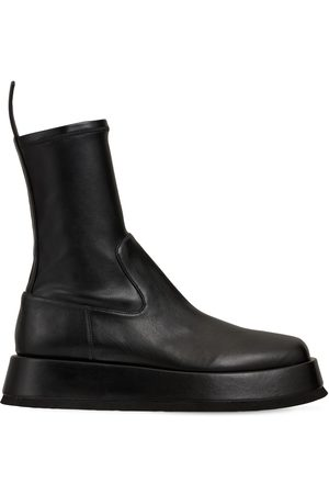 GIA 40mm Rosie 11 Faux Leather Ankle Boots
