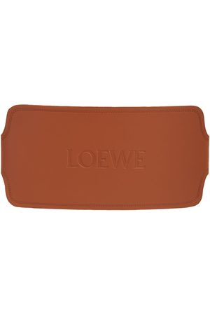 Loewe Logo Leather Maxi Belt