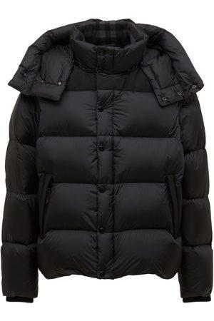 Burberry Hooded Leeds Nylon Down Jacket