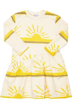 YELLOWSUB All Over Sun Print Cotton Dress