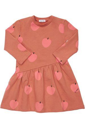 YELLOWSUB All Over Apple Print Cotton Dress
