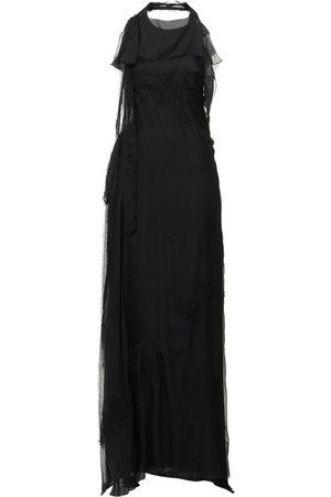 VALENTINO Silk Chiffon Lace Gown