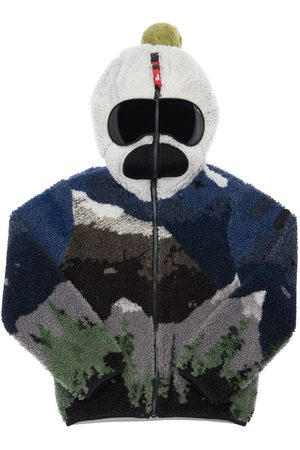 AI RIDERS All Over Print Hooded Teddy Jacket