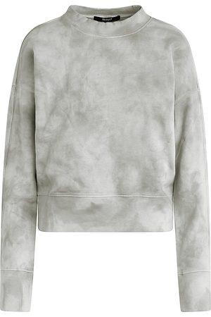 Hudson Cut-Out Smoky Crewneck Sweatshirt