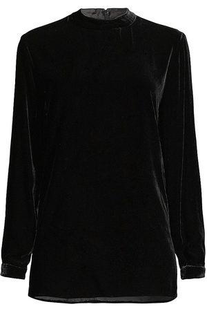 Eileen Fisher Women High Necks - Velvet Mock Turtleneck Tunic