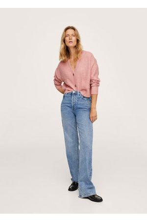 MANGO Women Cardigans - Pocket knit cardigan