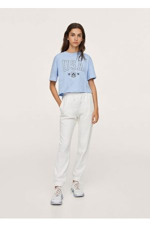 MANGO TEEN Girls Tracksuits - Cotton jogger-style trousers