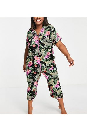 Yours Exclusive pajama set in floral-Multi