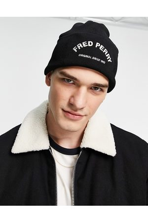 Fred Perry Men Beanies - Arch branded beanie in