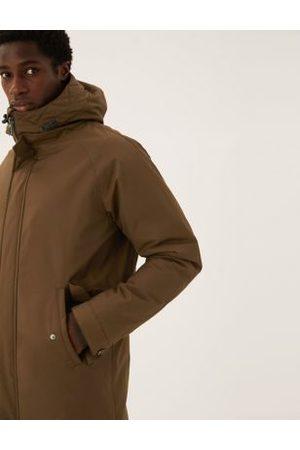 Marks & Spencer Men Parkas - Borg Lined Parka Jacket with Stormwear™