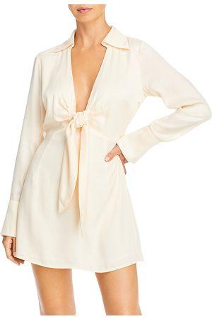 Nicholas Pascal Tie Front Mini Dress