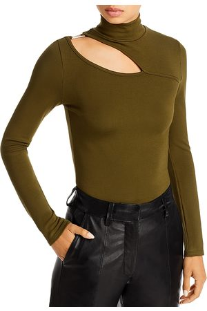 Fore Cutout Turtleneck Top