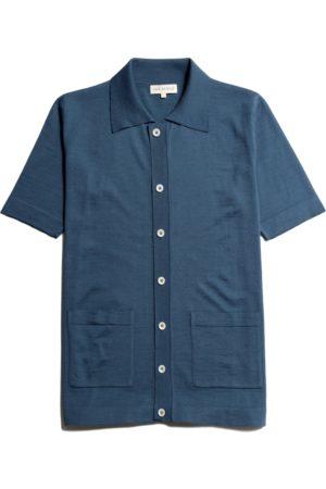 Far Afield Velzy Short Sleeve Cardigan Ensign