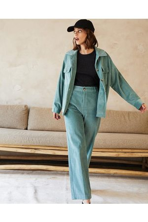 Grace & Mila Women Jackets - Grace and Mila Day Jacket - Turquoise