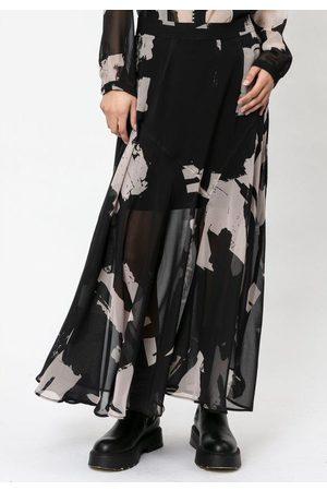 Religion Women Printed Skirts - Transformation Skirt - Facade Print