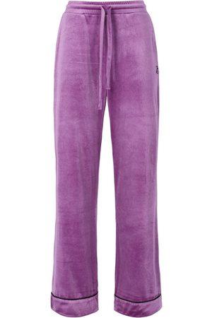 Juicy Couture Women Pajamas - Paula Velvet Pyjama Bottoms - Sparkling Grape