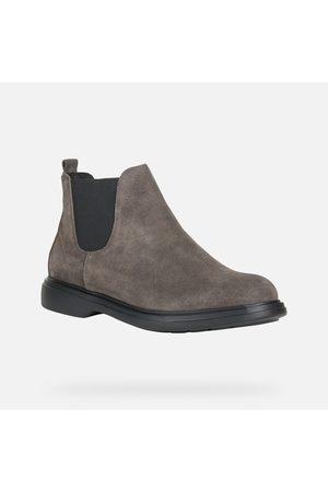 Geox OTTAVIO Mud Suede Ankle Boots U16DCC00022C6372