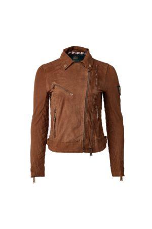 Holland Cooper Ladies Suede Biker Jacket