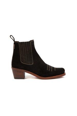 PENELOPE CHILVERS Ladies Salva Oiled Suede Boot