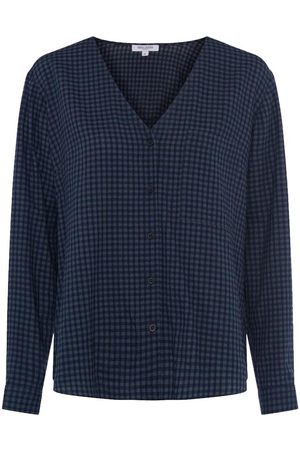 Great Plains Micro gingham top, Title: DKNVYMULTI