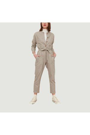 Tinsels Women Pants - Worker's suit Roxy NOISETTE