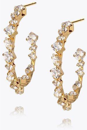 Caroline Svedbom Women Earrings - Antonia Crystal Hoop Earrings - Crystal