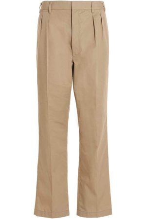 LEMAIRE Men Jeans - MEN'S M213PA173LF591260 BEIGE OTHER MATERIALS PANTS