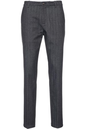 CRUNA Men Jeans - MEN'S SMARAIS80312NOTTE GREY OTHER MATERIALS PANTS