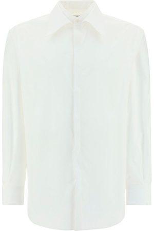 VALENTINO Men Shirts - MEN'S WV0ABA934WW001 OTHER MATERIALS SHIRT