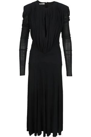 Philosophy Women Dresses - Structured shoulder keyhole-neck dress