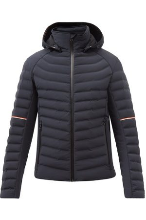 Toni Sailer Ruven Hooded Quilted Down Coat - Mens - Navy