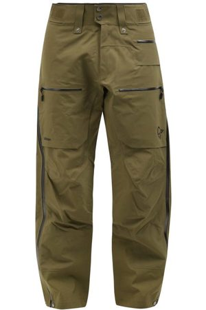 NORRØNA Lofoten Gore-tex Technical-shell Ski Trousers - Mens - Green
