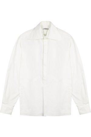 VALENTINO Men Shirts - Twill shirt