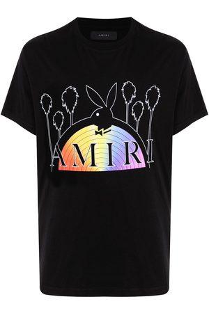 AMIRI X Playboy logo-print T-shirt