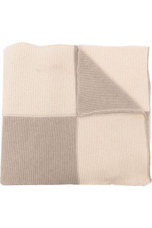 JEJIA Women Scarves - Colour-block stockinette scarf