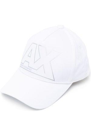 Armani Men Caps - Logo-print cotton cap