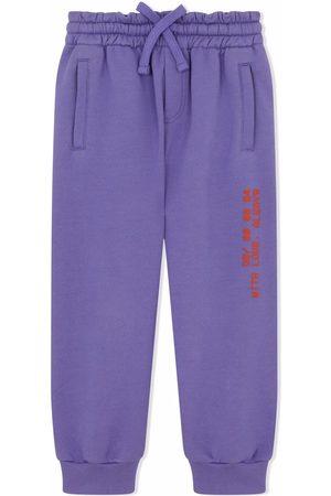 Dolce & Gabbana Boys Sweatpants - Cotton track trousers